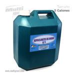 Hipoclorito de Sodio al 13%  Garrafa 5 Galones