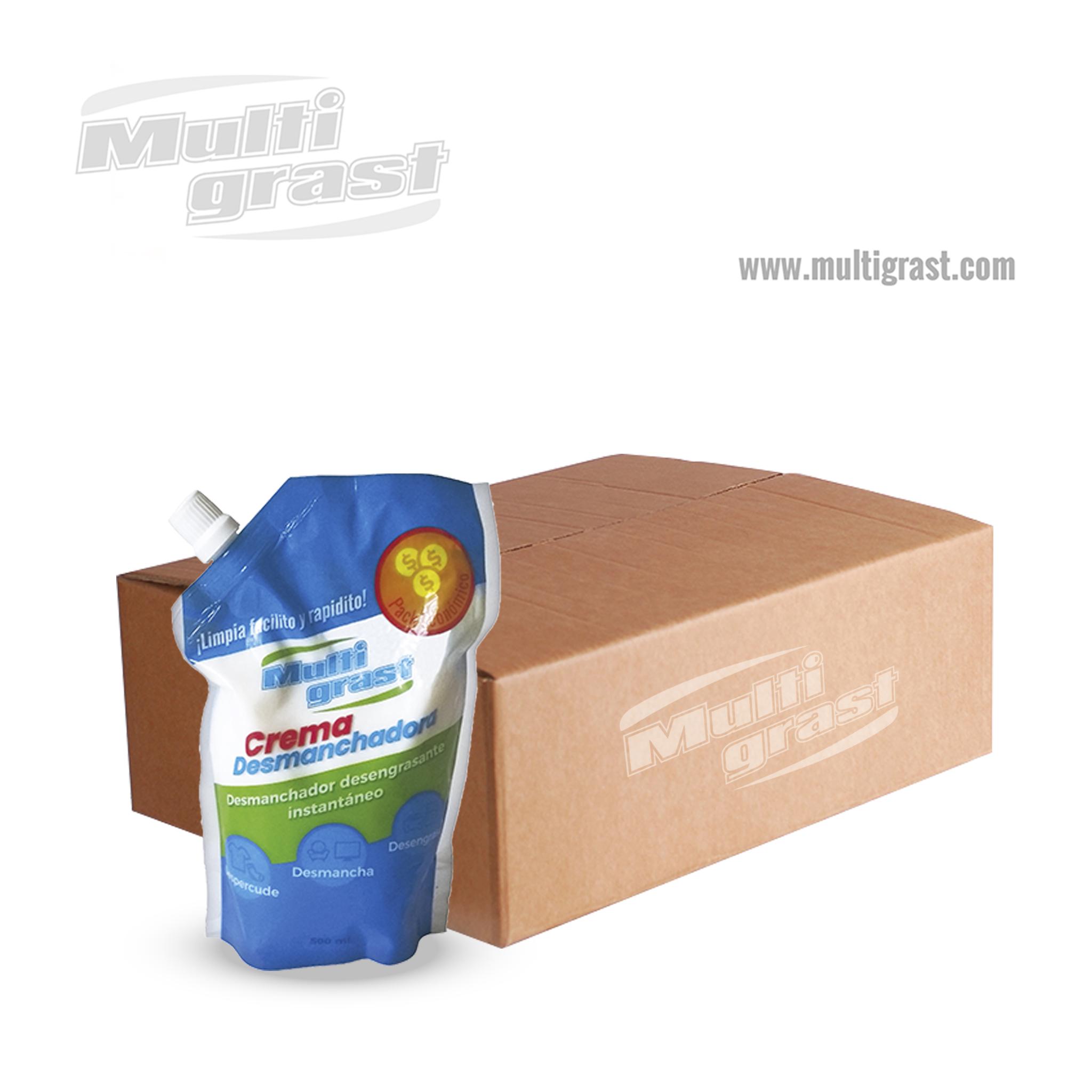 Crema Desmanchadora Doypack Caja x 50 Unidades