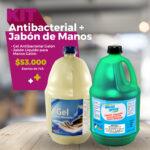 Kit Antibacterial + Jabón De Manos